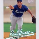 1997 Ultra Baseball #123 Raul Ibanez - Seattle Mariners