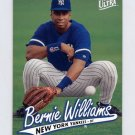 1997 Ultra Baseball #107 Bernie Williams - New York Yankees