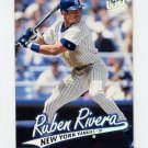 1997 Ultra Baseball #104 Ruben Rivera - New York Yankees