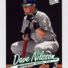1997 Ultra Baseball #082 Dave Nilsson - Milwaukee Brewers