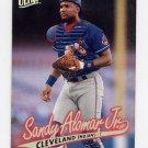 1997 Ultra Baseball #045 Sandy Alomar Jr. - Cleveland Indians