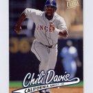 1997 Ultra Baseball #024 Chili Davis - California Angels