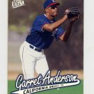 1997 Ultra Baseball #022 Garret Anderson - California Angels