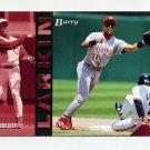 1994 Select Baseball #007 Barry Larkin - Cincinnati Reds