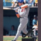 1996 Select Baseball #199 Mike Piazza CL - Los Angeles Dodgers
