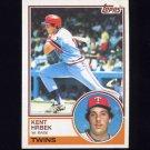 1983 Topps Baseball #690 Kent Hrbek - Minnesota Twins