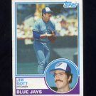1983 Topps Baseball #506 Jim Gott RC - Toronto Blue Jays