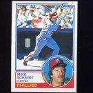 1983 Topps Baseball #300 Mike Schmidt - Philadelphia Phillies