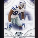 2008 Donruss Threads Football #037 DeMarcus Ware - Dallas Cowboys