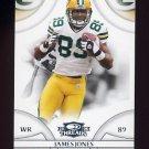2008 Donruss Threads Football #050 James Jones - Green Bay Packers