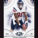 2008 Donruss Threads Football #053 Andre Johnson - Houston Texans
