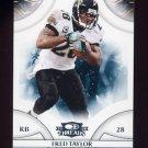 2008 Donruss Threads Football #062 Fred Taylor - Jacksonville Jaguars