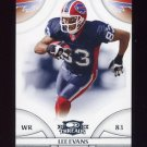 2008 Donruss Threads Football #105 Lee Evans - Buffalo Bills