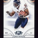 2008 Donruss Threads Football #118 Cedric Benson - Chicago Bears
