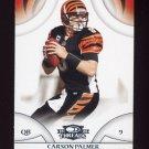 2008 Donruss Threads Football #122 Carson Palmer - Cincinnati Bengals