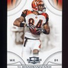 2008 Donruss Threads Football #124 T.J. Houshmandzadeh - Cincinnati Bengals