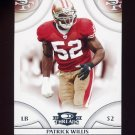 2008 Donruss Threads Football #127 Patrick Willis - San Francisco 49ers