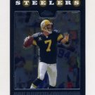 2008 Topps Chrome Football #TC012 Ben Roethlisberger - Pittsburgh Steelers