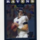 2008 Topps Chrome Football #TC019 Kyle Boller - Baltimore Ravens