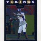 2008 Topps Chrome Football #TC030 Tarvaris Jackson - Minnesota Vikings
