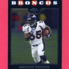2008 Topps Chrome Football #TC049 Selvin Young - Denver Broncos