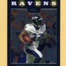 2008 Topps Chrome Football #TC053 Willis McGahee - Baltimore Ravens
