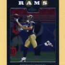 2008 Topps Chrome Football #TC062 Torry Holt - St. Louis Rams