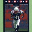 2008 Topps Chrome Football #TC074 Randy Moss - New England Patriots