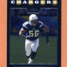 2008 Topps Chrome Football #TC114 Shawne Merriman - San Diego Chargers