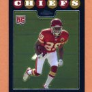 2008 Topps Chrome Football #TC185 Jamaal Charles RC - Kansas City Chiefs