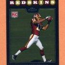 2008 Topps Chrome Football #TC206 Devin Thomas RC - Washington Redskins