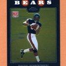 2008 Topps Chrome Football #TC210 Earl Bennett RC - Chicago Bears