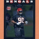 2008 Topps Chrome Football #TC231 Pat Sims RC - Cincinnati Bengals