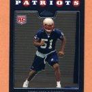 2008 Topps Chrome Football #TC246 Jerod Mayo RC - New England Patriots