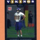 2008 Topps Chrome Football #TC274 Tyrell Johnson RC - Minnesota Vikings