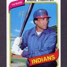 1980 Topps Baseball #534 Andre Thornton - Cleveland Indians ExMt