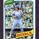 1980 Topps Baseball #525 Clint Hurdle - Kansas City Royals