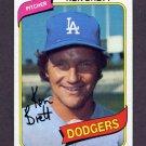1980 Topps Baseball #521 Ken Brett - Los Angeles Dodgers
