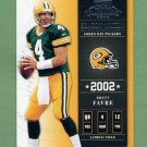 2002 Playoff Contenders Football #070 Brett Favre - Green Bay Packers