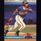 1991 Stadium Club Baseball #442 Deion Sanders - New York Yankees