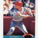 1991 Stadium Club Baseball #148 Bill Doran - Cincinnati Reds