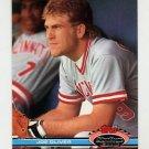 1991 Stadium Club Baseball #068 Joe Oliver - Cincinnati Reds