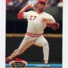 1991 Stadium Club Baseball #011 Jose Rijo - Cincinnati Reds