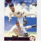 1999 Pacific Red Baseball #294 Derek Jeter - New York Yankees