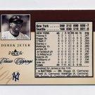2004 Classic Clippings Inserts Baseball #15 Derek Jeter - New York Yankees 162/750