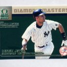 1999 Pacific Omega Diamond Masters Baseball #22 Derek Jeter - New York Yankees