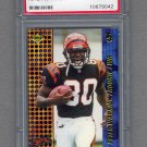 2000 Collector's Edge T-3 Retail #165 Peter Warrick RC - Cincinnati Bengals Graded PSA MINT 9