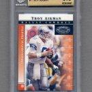 2000 Donruss Preferred Football #007 Troy Aikman - Dallas Cowboys Graded BGS 9.5 GEM MINT