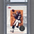 2001 Fleer Authority Football #114 Chad Johnson RC - Bengals 1326/1350 Graded BGS 9.0 MINT