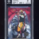1997 Pinnacle Totally Certified Platinum Red #3 Brett Favre - Packers /4999 Graded BGS 9.0 MINT